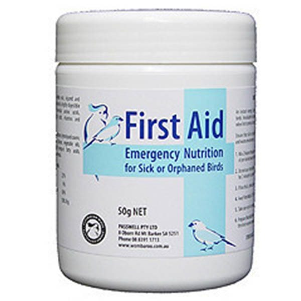 Passwell First Aid for Birds - 50gm - Camsal Aviaries